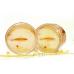 Увлажняющие и омолаживающие патчи для глаз Bioaqua Golden Osmanthus Eye Mask с золотым османтусом 80 шт
