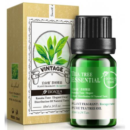 Эфирное масло для лица Bioaqua массажное с маслом чайного дерева 10 мл