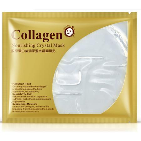 Коллагеновая маска для лица Bioaqua Nourishing crystal Collagen Mask 60 г
