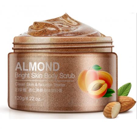 Cкраб для тела BioAqua Almond Bright Skin Body Scrub с маслом миндаля 120 г