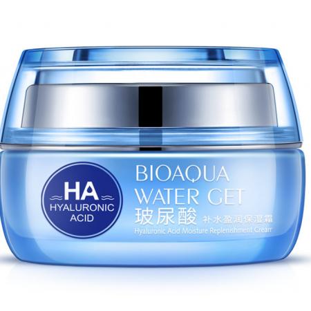 Глубокоувлажняющий крем для лица Bioaqua с гиалуроновой кислотой 50 мл