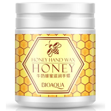 Маска для рук BioAqua Honey Hand Wax  парафиновая с экстрактом меда 170 г