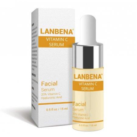 Осветляющий серум для лица Lanbena Vitamin C Serum с витамином С и аргинином 15 г