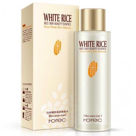 Увлажняющий тонер для лица Rorec Rice White Skin Bauty с экстрактом риса 120 мл