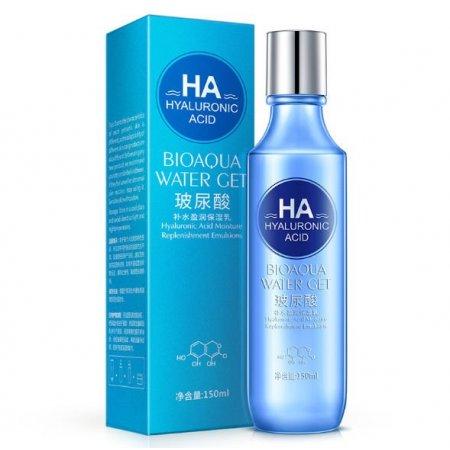 Эмульсия для лица Bioaqua Hyaluronic Acid Emulsion с гиалуроновой кислотой 150 мл