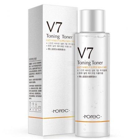 Освежающий тонер для лица Rorec V7 Toning Light Toner с витаминным комплексом 120 мл
