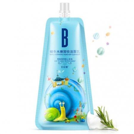 Пенка для умывания Bioaqua snail hydrating remover cleanser с фильтратом улитки 100 мл