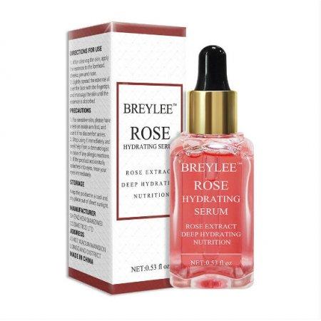 Освежающая эссенция для лица BREYLEE Rose Nourishing Serum с экстрактом  розы 15 мл