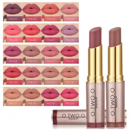 Стойкая матовая помада в стике O.TWO.O Rose Gold Revolution Lipstick  3.5 гр