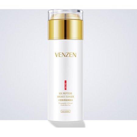 Освежающий тонер для лица  Venzen Six Peptide Moist Toner с шестью пептидами 120 мл