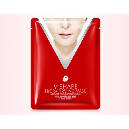 Подтягивающая маска для лица IMAGES V-SHAPE HYDRA FIRMING MASK с экстрактом риса протеинами шелка и гиалуроновой кислотой 40 мл