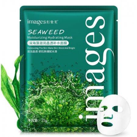 Увлажняющая маска для лица IMAGES SEAWEED Moisturizing Hydrating Mask с экстрактом морских водорослей 25 гр