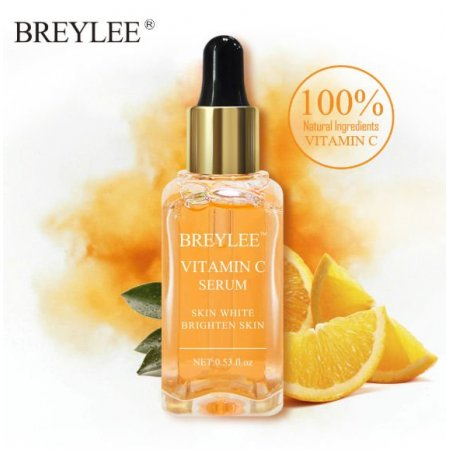 Осветляющий серум для лица BREYLEE VITAMIN C SERUM SKIN WHITE BRIGHTEN с витамином С  17 мл