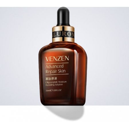 Омолаживающая сыворотка для лица VENZEN NATURAL ORGANIC Oligopeptide Moisture Hydrating Solution с олигопептидами 30 мл