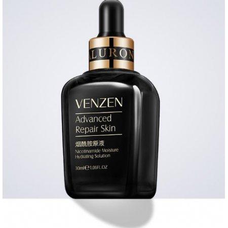 Увлажняющая сыворотка для лица VENZEN NATURAL ORGANIC Nicotinamide Moisture Hydrating Solution с никотинамидом и гиалуроновой кислотой 30 мл