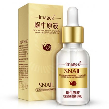 Сыворотка для лица Images Snail с улиткой и гиалуроновой кислотой 15 мл