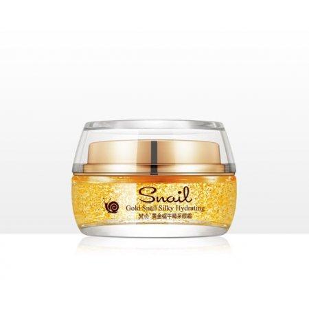 Омолаживающий крем для лица VENZEN SKIN QUEEN Silky Hydrating Skin Gold Snail с фильтратом улитки и 24К золотом 30 г