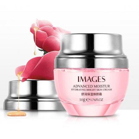 Освежающий регенерационный крем для лица IMAGES Moisturizing Beauty Cream с экстрактом розы 50 гр