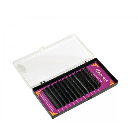 Ресницы для наращивания Premium mink Lishes. 0,10. CD 9-14 мм. 12 линий