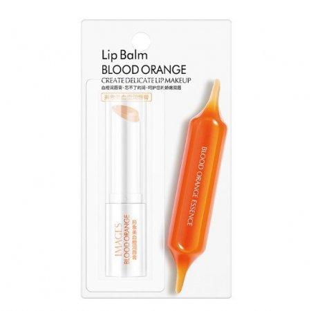 Увлажняющий бальзам для губ IMAGES Lip Balm BLOOD ORANGE CREATE DEUCATE LIP MAKEUP с экстрактом апельсина и кокосового масла  2,7 грамм
