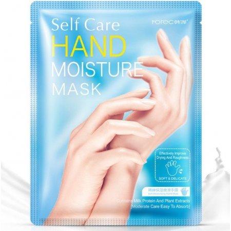 Увлажняющие маска-перчатки для рук ROREC SELF CARE HAND MASK высоковитаминная 35 гр