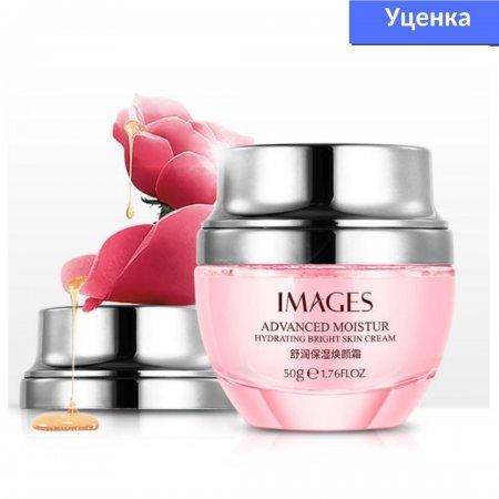 Уценка! Освежающий регенерационный крем для лица IMAGES Moisturizing Beauty Cream с экстрактом розы 50 гр