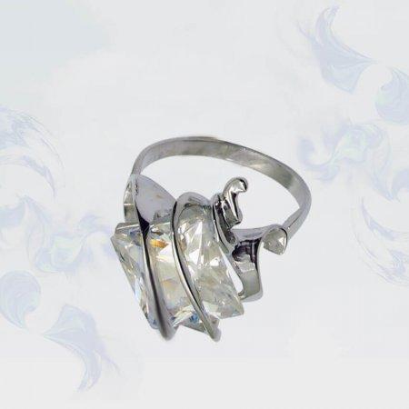 Кольцо из серебра, модель 024