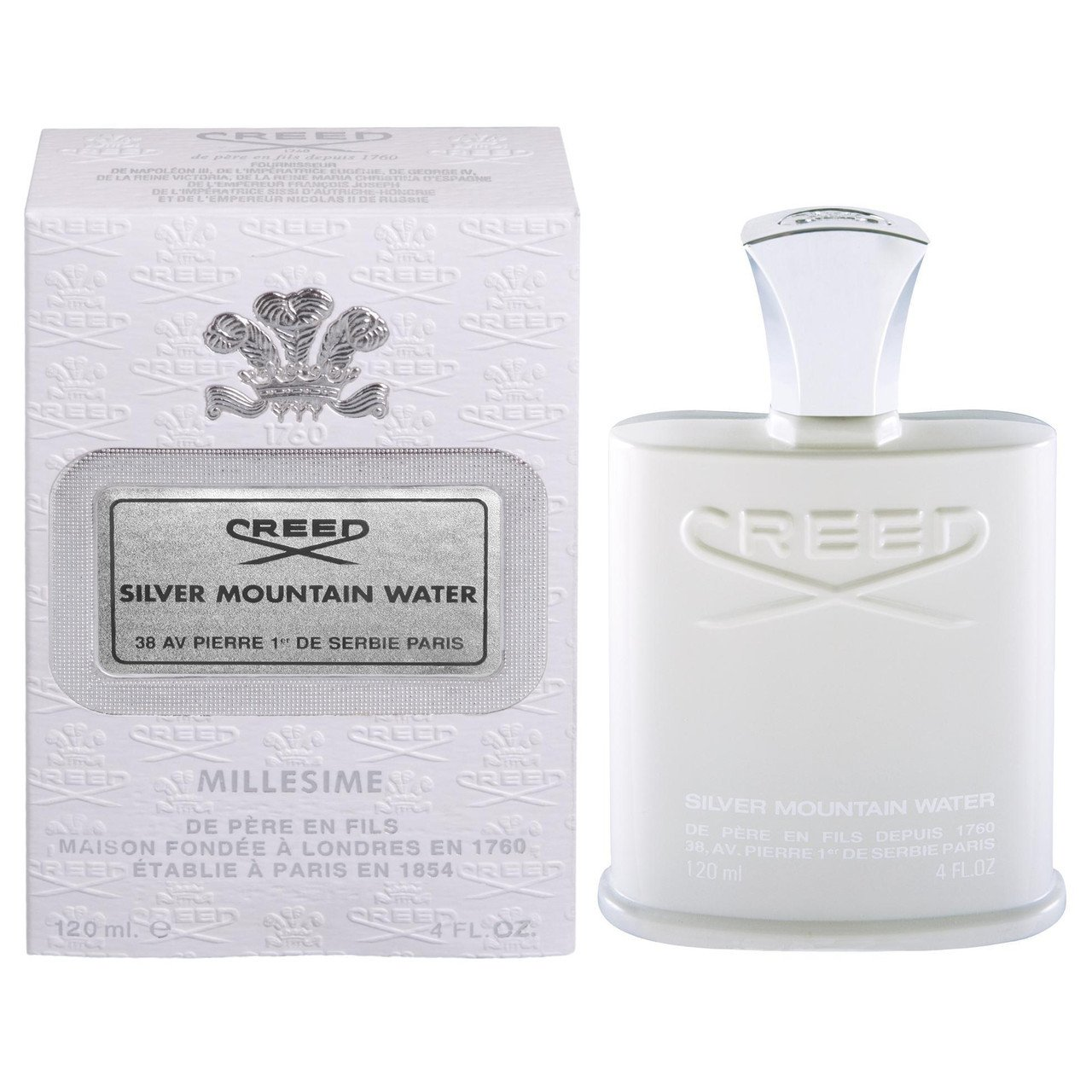 Creed Silver Mountain Water edt 125 ml (лиц.)