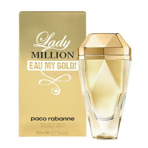 Paco Rabanne Lady Million Eau My Gold edt 80ml (лиц.)