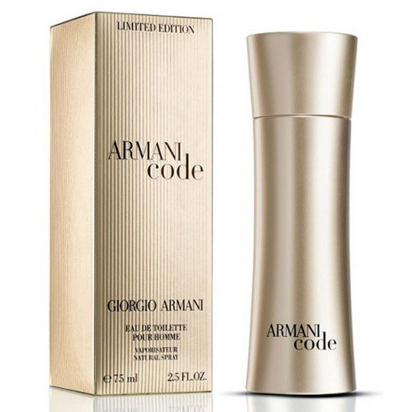 Armani Code Golden Limited Edition pour homme edt 125ml (лиц.)