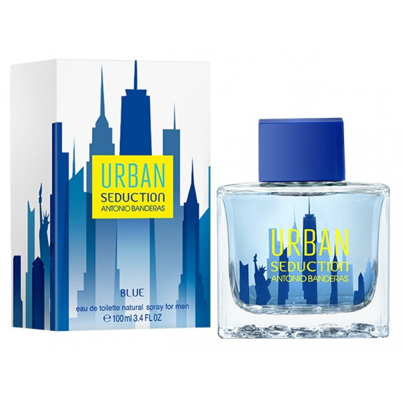 Antonio Banderas Blue Urban Seduction for Men edt 100 ml (лиц.)