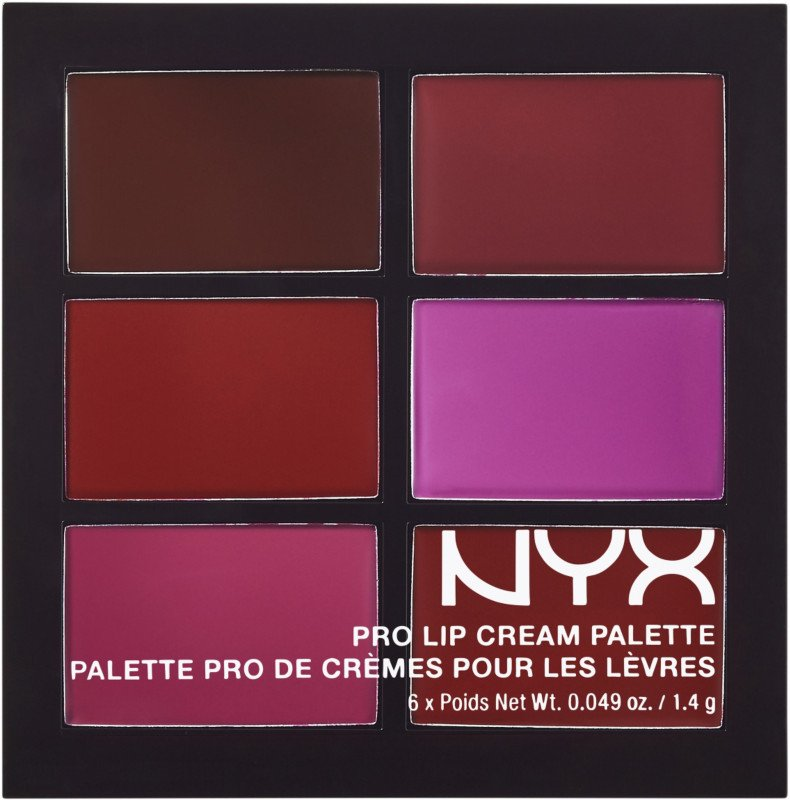 Помада палетка NYX Pro Lip Cream The Pinks