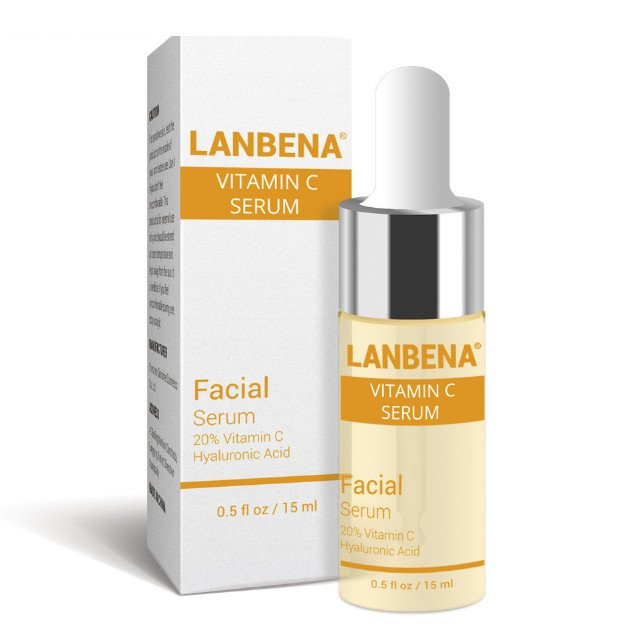 Осветляющий серум для лица Lanbena Vitamin C Serum с витамином С и аргинином 15 г